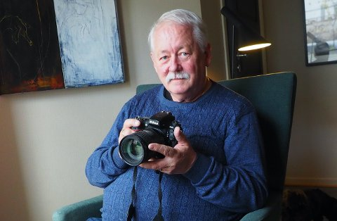 ALDRI ANGRET: Trond Hattrem (68) har aldri angret på at han valgte fotografyrket.