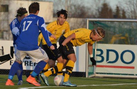 Elias Løvseth og Gjerdrum snublet foran mål mot Raumnes & Årnes.