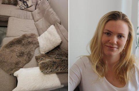 Thea Tillerflaten orker ikke synet av sin egen sofa lenger. Nå vil hun mer enn alt bli kvitt beistet.