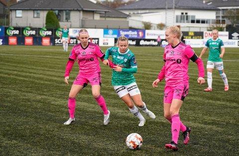 NYTT TAP: Anette Snørteland Jensen og Klepp kjempet tappert mot Rosenborg, men trønderne var for gode.