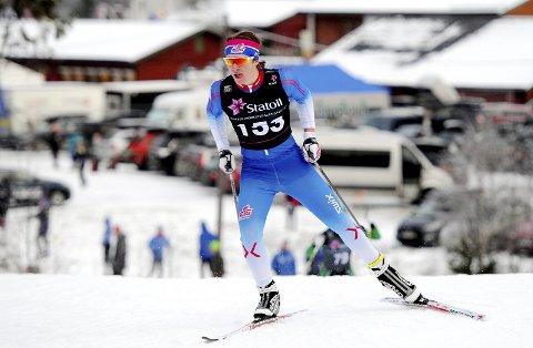 Grei start: Kasper Inderhaug fikk en god start på norgescupkarrieren i helga. Botne-talentet håper å gå raskere senere i vinter.  Foto: Svein Halvor Moe