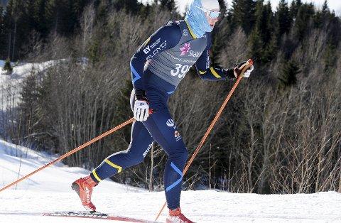Har gått sin siste konkurranse? Kristian Glasius Hegg gir seg med langrenn på toppnivå. 19-åringen gikk mest sannsynlig sine siste renn under junior-NM nå i helga. Foto: Svein Halvor Moe