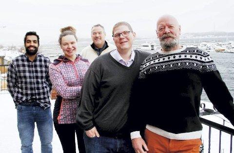 Forfriskende: Olvondo Technology, et friskt nytt pust i Holmestrand med tilhold i Kullboden.