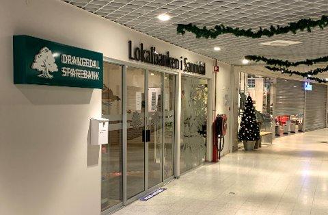 Drangedal Sparebanks lokaler hos Alti-senteret i Sannidal.