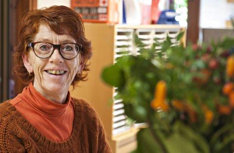 GLEDER SEG: Solfrid Holtan har vært med på å arrangere UKM i mange år. Lørdag skjer det igjen.