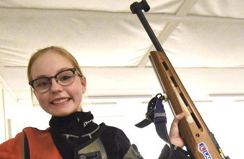 DOBBELTSEIER: Sara Kristine H. Johnsen vant både i Sauherad og på Notodden.