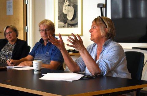 KREVENDE: Rådmann Wenche Grinderud la ikke skjul på at mange av de ansatte i Kongsberg kommune opplever forholdsreglene rundt korona-situasjonen som krevende.