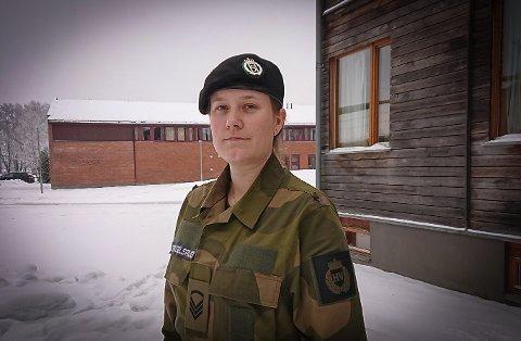 ET STERKT MØTE: Line Stengelsrud fra Kongsberg forteller om et sterkt møte med Gjerdrums lokalbefolkning, som hun tar med seg som et godt minne. Men ikke alt var positivt.