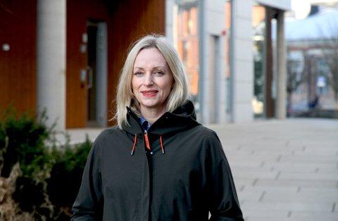 AVLYSER: Gunn Helen Hagen, administrerende direktør i Norges Varemesse, sier de setter hensynet til folk i første rekke og avlyser alle arrangementer ut april 2020.