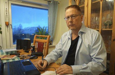 Sagn i nord:  Forfatter  Roald Larsen (bildet) er ute med ei ny bok, denne gangen om nordnorske sagn, der også en museumsbestyrer i Svolvær forteller utenomjordiske opplevelser fra museumslivet.