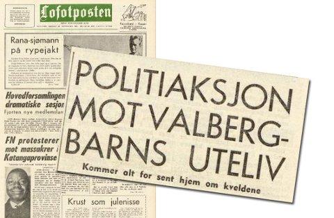Faksimile fra Lofotposten 21. september 1960.
