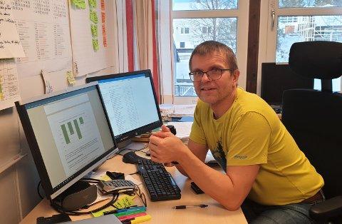 Villy Angelsen er fungerende informasjonsansvarlig i Vestvågøy kommune.