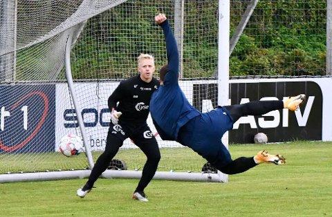 MÅÅÅL: Zlatko Tripic scoret vinnermålet da Viking slo Mjøndalen. Bildet er hentet fra trening.