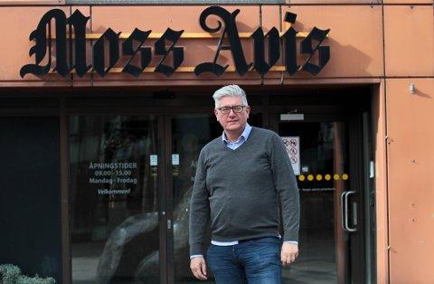 Det er viktig for lokaldemokratiet at avisene fortsatt står sterkt, mener redaktør i Moss Avis - Pål Enghaug.