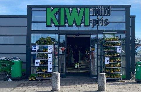 UTIVDER: Salgsarealet på denne kiwi-butikken skal øke med omtrent 200 kvm