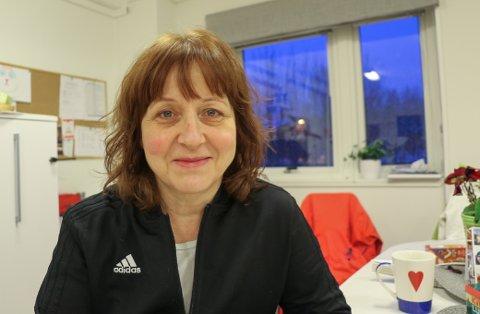 GIR SEG: Berit Kjeldsberg har hatt ulike roller i TIL i omtrent 30 år. Etter seriegullet i 2.-divisjon med TILs damelag i fjor, så gir 57-åringen seg.