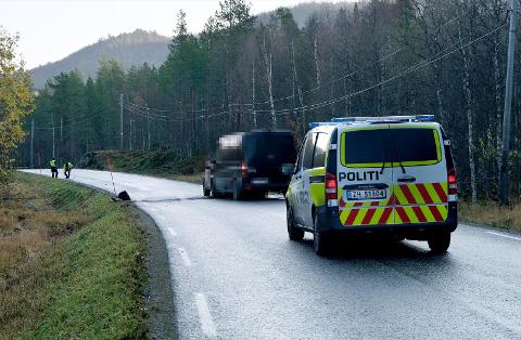DØDSULYKKE: En kvinne i 40-årene døde etter en ulykke i Målselv mandag formiddag.