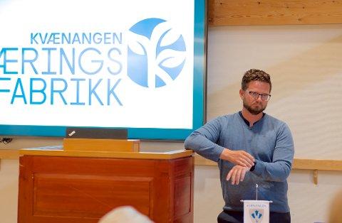 NYE JOBBER: Under et kommunestyremøte I juni 2020 la nytilsatt daglig leder Tonny Mathiassen frem rapporten som viste at det er etablert et stort antall nye arbeidsplasser i Nord-Troms kommunen.