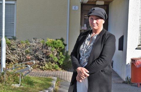 FIKK TESTSVAR: Mottaksleder ved Toten statlige mottak, Britt Schraffenberg, var selv med på testrunden lørdag. – De i alt 70 voksne beboerne ved mottaket bor alle i egne boliger slik at gjennomføring av karantene og isolasjon lar seg gjennomføre på en god måte, forteller hun.