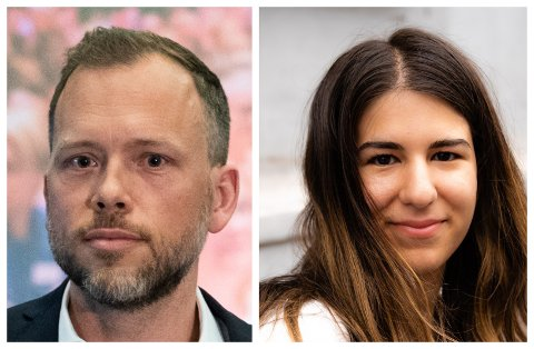 VIKTIG MEDSPILLER: Aila Emilie Kamaly blir nå partiets fjerde fremste og dermed en viktig medspiller for Audun Lysbakken i ledelsen av SV.