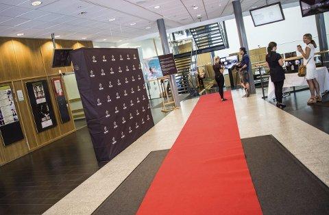 Rullet ut: Mikael Eliassen hadde rullet ut den røde løperen for de jobbkandidatene. Alle FOTO: Eskild Gausemel Berge
