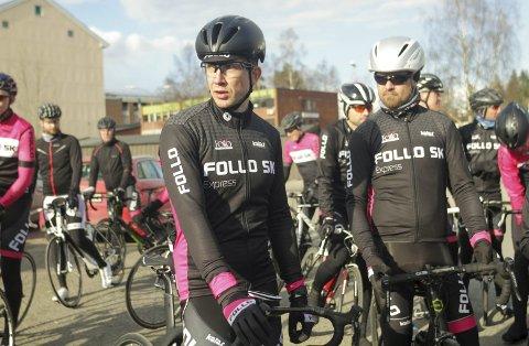 GODT FORNØYD: Jørgen Feldt, kaptein på Follo Express, var meget godt fornøyd med sluttid og ikke minst laginnsats i Styrkeprøven. At de endte like bak Kolbotn skal benyttes som motivasjon i treningsarbeidet.