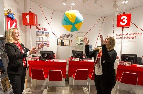 Hege Olsen og Silje Bolstad sender 30 prosent flere follofolk til varmere strøk.