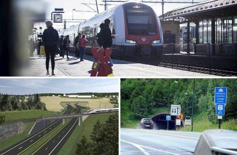 Det lå inne penger til Follobanen, ny E18 Retvet-Vinterbro og oppgradering av Oslofjordforbindelsen i stortingsmeldingen om Nasjonal transportplan som ble lagt frem av regjeringen onsdag.