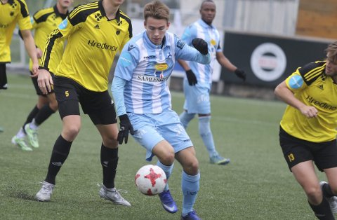 TAP: Julius Friberg Skaug og Follo FK gikk på et ettmålstap i helgens treningskamp.