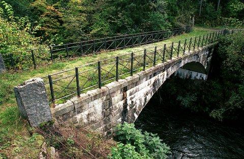 HAGENESBRUA. I 1992 benyttet Fortidsminneforeningen i Vestfold den sjeldne anledning å gi Statens Vegvesen en bevaringspris, nemlig for den pietetsfulle istandsettelsen av den gamle Hagenesbrua, fylkets eneste større steinhvelvbru.