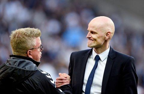 Ståle Solbakken og FC København er klare for mesterligaens gruppespill. (Foto: Liselotte Sabroe / NTB scanpix)