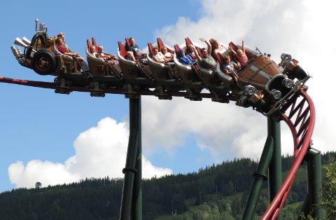 Høyesterett skal nå avgjøre hvem som har opphavsretten til berg-og-dal-banen Il Tempo Extra Gigante i Hunderfossen Familiepark. (Foto: Paul Kleiven / NTB scanpix)