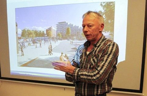 Einar Barosen i kommunens avdeling for byutvikling har søkt fylkeskommunen om støtte til ni sikre tiltak i Porsgrunn.
