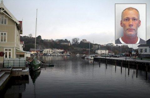 Politi, brannvesen og Røde Kors vil lørdag og søndag søke etter Thor-Helge Kristoffersen (innfelt) på land og i vann rundt Brevik.