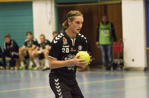 Marius Klevstad scoret 8 mål i lørdagens kamp mot Kristiansand.