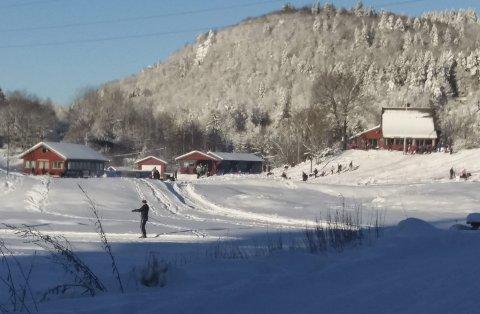 NULL KRONER: Porsgrunn kommune har gitt IF Ørn avslag på søknad om støtte til å betale strømregninga for drift av snøkanonene ved skianlegget på Jarseng.