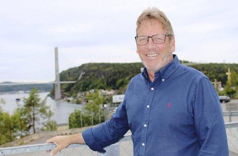VEIBYGGER: Magne Ramlo i Nye Veier skal forklare ny E18.
