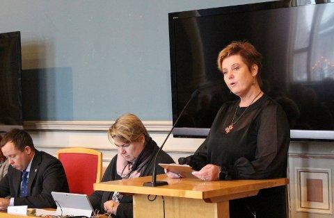LEDER: Utvalgsleder Heidi Gjøsæter kan være på rett kurs.