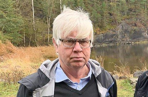 LEDER: Jon Helge Helgerud, leder av fellesforumet.
