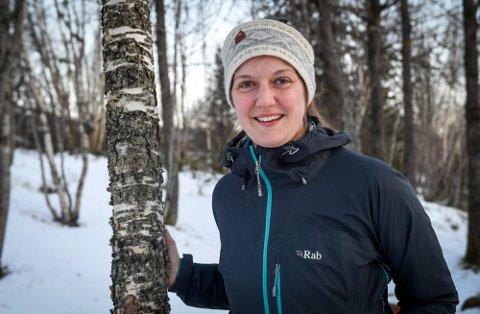Vinter: Ingvild Skogvold sier forholdene over Bustneslia på vinteren ikke er akseptable.