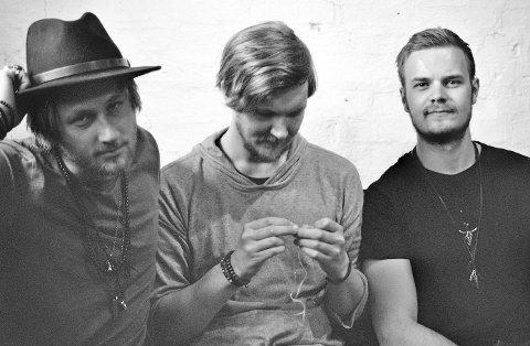 Erik Næss, Fredrik Karlsen og Anders Langset utgjør Bisån.