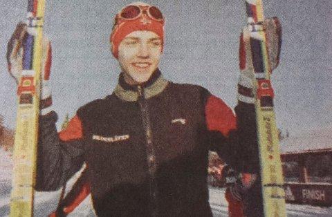 ANNO 2000: Tord Asle Gjerdalen i ung utgave.