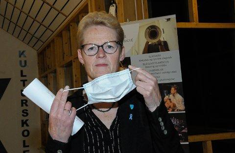 NØDVENDIGE GREP: Sunni Grøndahl Aamodt, ordfører i Modum kommune, sier den nye smitteforskriften er inngripende, men nødvendig for å slå ned smitten.