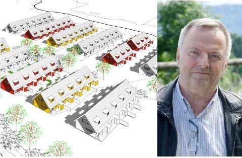 ENKELT: - Det er veldig enkelt å utvikle området, sa Knut Stubben (KrF).