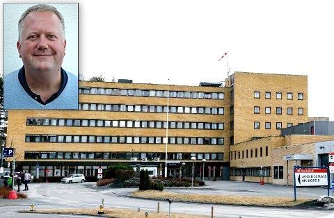 STERKE INNTRYKK: Erik Modal har intervjuet åtte ansatte ved Ringerike sykehus om hvordan de opplevde å være på jobb 22. juli 2011.