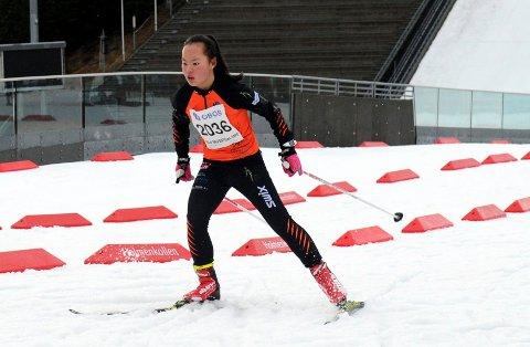 MOTIVERT: Ragnhild Gunleiksrud ser frem til å konkurrere igjen etter en vinter med mye trening. Motivasjonen er fortsatt på topp.