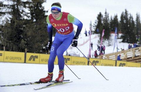I TOPPEN: Andreas Kirkeng kapret en sterk sjetteplass i sammendraget i juniorenes norgescup i langrenn.