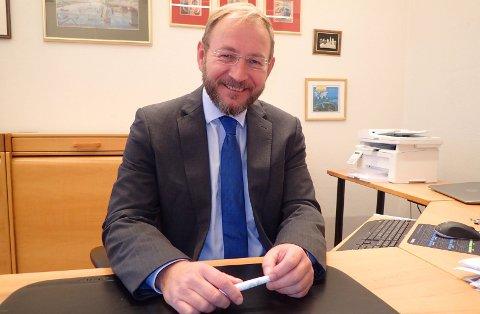 TYDELIG: - Fra næringslivets side i Drammensregionen er vi imidlertid meget tydelig på å støtte arbeidet med en rask og god gjennomføring av prosjektet for nye E18, skriver daglig leder i Drammen næringsforening, Rune Kjølstad.