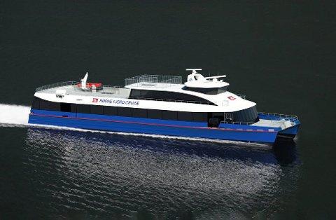 NY REKORD: Den elektriske hurtigbåten, Rygerelektra frakter turister mellom Stavanger og Lysefjorden. Nå har den satt verdensrekord, for ingen elektrisk passasjerbåt går så langt og så fort. I tillegg sparer den inn et forbruk på 270 000 liter diesel i året. Denne båttypen kan derfor være aktuell for Ruter.