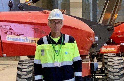 INVESTERER: Eierne investerer 500 millioner kroner i ny biodieselfabrikk på Tofte, sier direktør Per Einar Floberg: